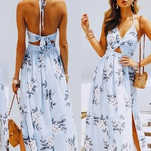 Women's Sexy Fall Maxi Dress! Brand new with tags.